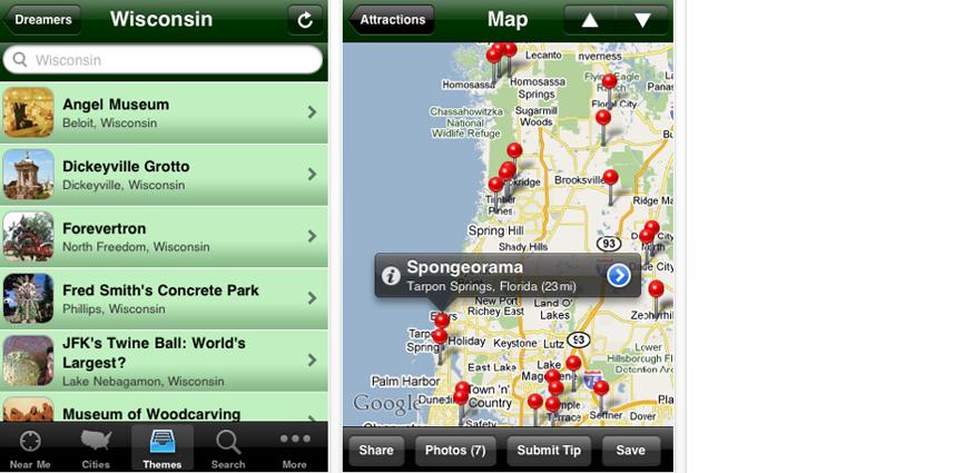 road trip app